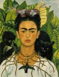 """Frida Kahlo (self portrait)"". Licensed under Fair use via Wikipedia -"