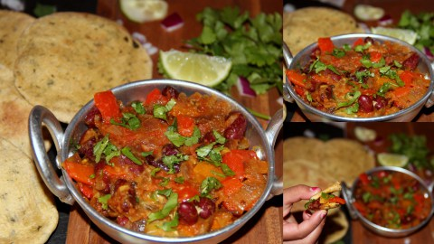 Bellpeppers Rajma final