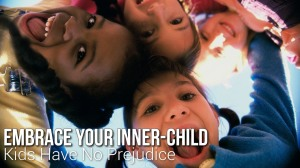 "Image  from ""Kids Have No Prejudice"" Documentary. Click to watch on YouTube"