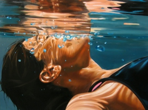 art,swimming,under water,pool
