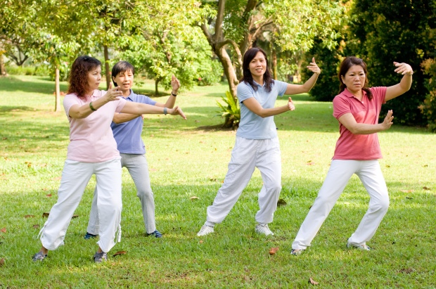 "Image from FibromyalgiaNewsToday.com. Found on FlipBoard.com.  Click to read the article ""Tai Chi Practice Has an Anti-Aging Effect and Can Help Fibromyalgia Patients Cope with the Disease"""